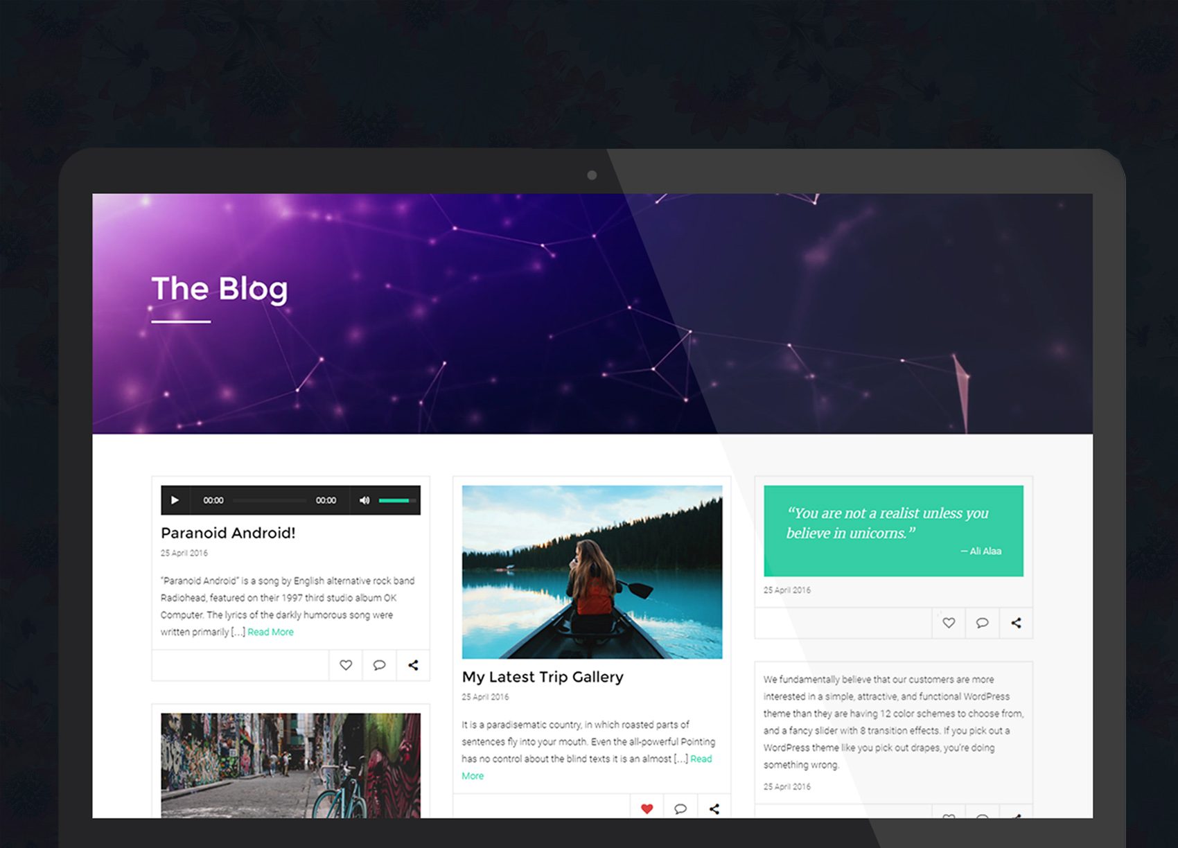 Quartz for WordPress